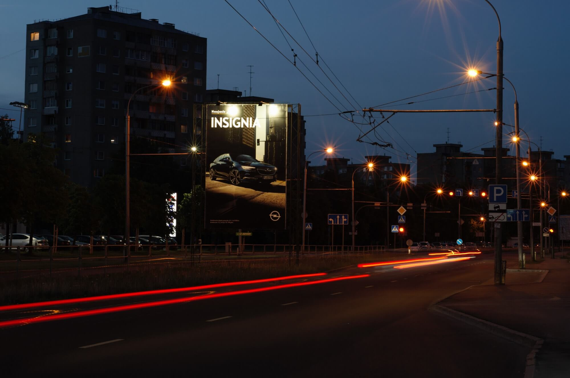 LT ADVERT Opel Insignia nauja reklama
